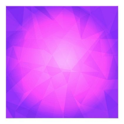 Abstract glow light purple triangle background card
