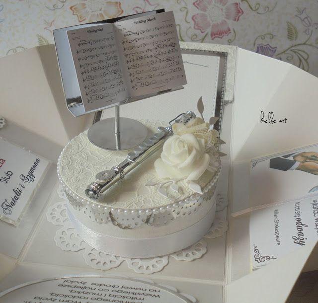 belle art, wedding, exploding box, flute, roses, foamiran, scrapbooking