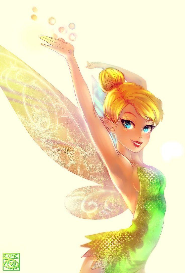 Tinker Bell by ~E-X-P-I-E on deviantART