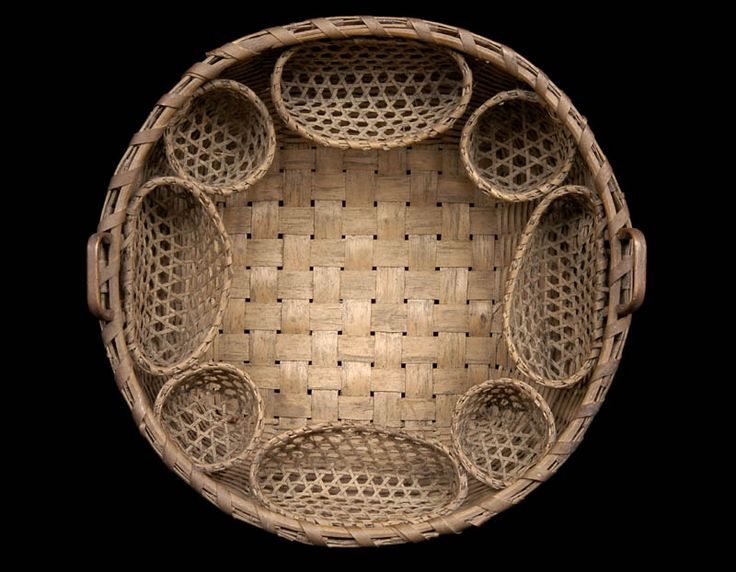 Basket Weaving Star Pattern : Best antique baskets images on vintage