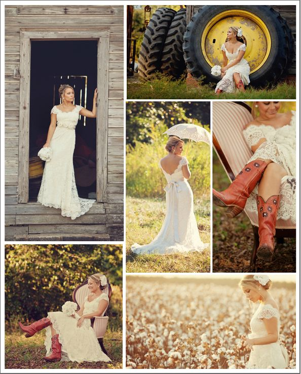 farm inspiration | a southern belle bridal session featuring a Modern Trousseau bride wearing the 'Jessica' lace bridal gown.