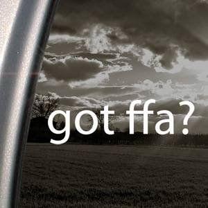 Amazon.com: Got Ffa? White Decal Sticker Future Farmers Agriculture Car White Decal Sticker: Arts, Crafts & Sewing