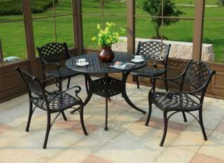 Best + Iron patio furniture ideas on Pinterest  Mosaic tiles
