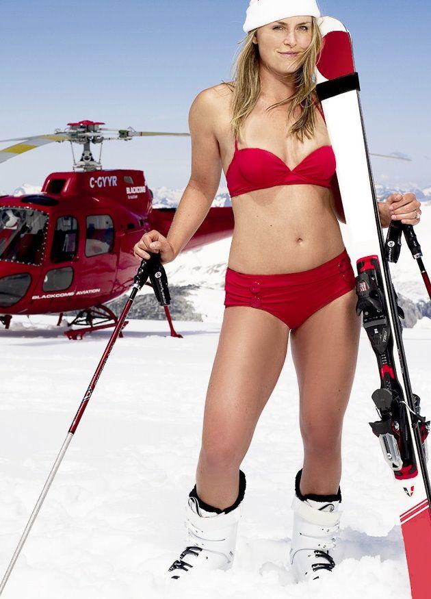 Lindsey Vonn Hot | Lindsey Vonn SI's photosession