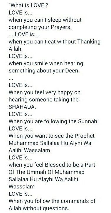 ♥...Love in Islam...♥