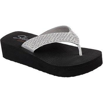 Skechers Women's Vinyasa Beach League Flip Flop Wedge Sandal at Famous Footwear