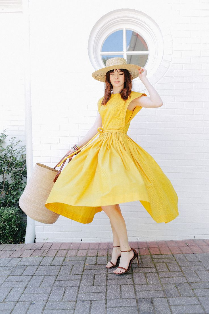 This Dress Is An Amazing 80s Does 50s Piece From One Of My Favorite