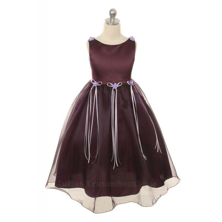 Mädchenkleid Holly Größe 68 bis 164 in 10 Farben
