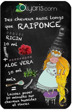 Votre rêve de petite fille était d'avoir des cheveux aussi longs que Raiponce ? L'huile de ricin aide votre tignasse à atteindre une longueur vertigineuse.