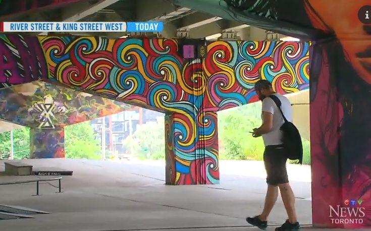 CTV: Underpass Park in Toronto transformed through art