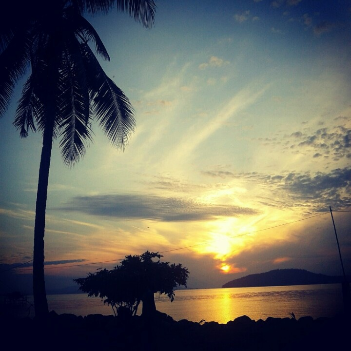 Sunset at Lemukutan Island