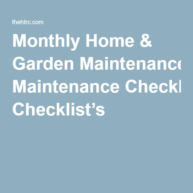 Best 25+ Home maintenance checklist ideas on Pinterest New home - checklists boosting efficiency reducing mistakes