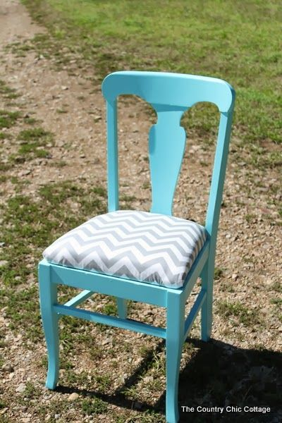 Teen Room Painted Chair and Painting Tips and Tricks #ad - * THE COUNTRY CHIC COTTAGE (DIY, Home Decor, Crafts, Farmhouse)