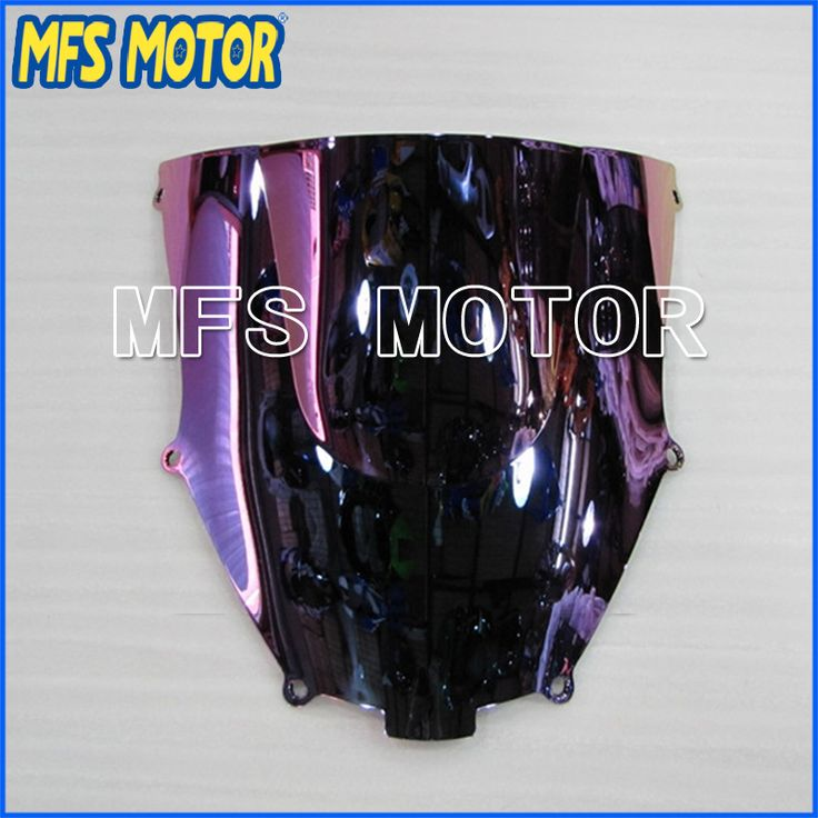 Top Quality Colorful Motorcycle Windshield/Windscreen For Kawasaki ZX9R 2000-2005 01 02 03 04