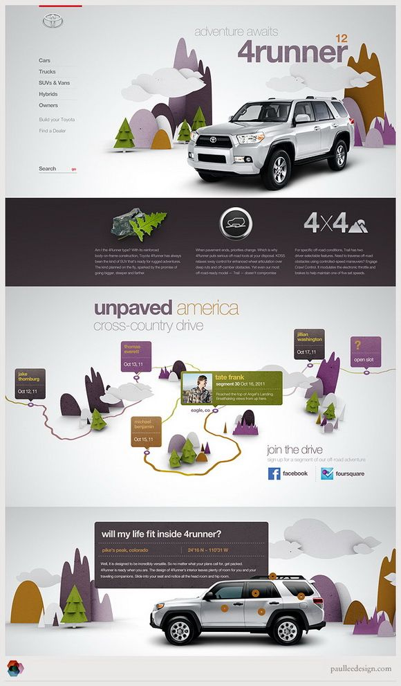 Mix of illustration with photography to make infographics interesting