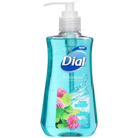 Dial Seasonal Collection Tropical Fruit Splash Scent Liquid Hand Soap with Moisturizer, 7.5 fl oz