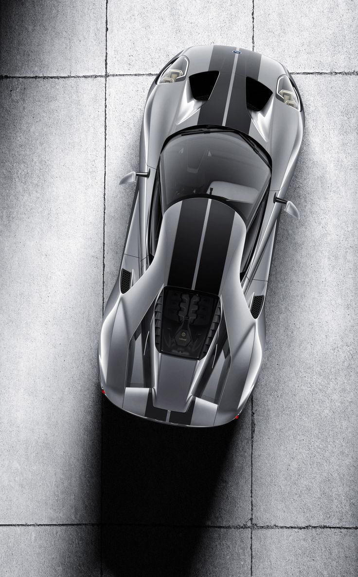 """automotivated: """"The all-new Ford GT supercar in Liquid Silver """""""