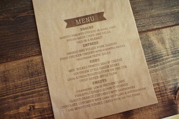 sachet-kraft-menu-mariage