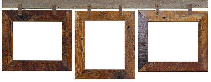 NEW BARN WOOD RECLAIMED 3 PHOTO 8X10 PICTURE FRAME COLLAGE COUNTRY RUSTIC DECOR #Handmade #Country
