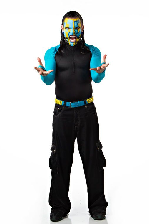 Jeff Hardy and TNA Impact Wrestling colleagues bring some muscle to John Paul Jones Arena