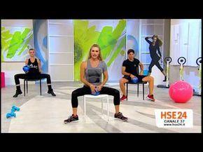 Glutei e Gambe da Seduti! allenati con Jill Cooper - YouTube