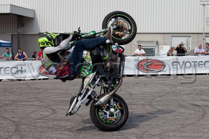 Filippo Franchi italian stunt rider