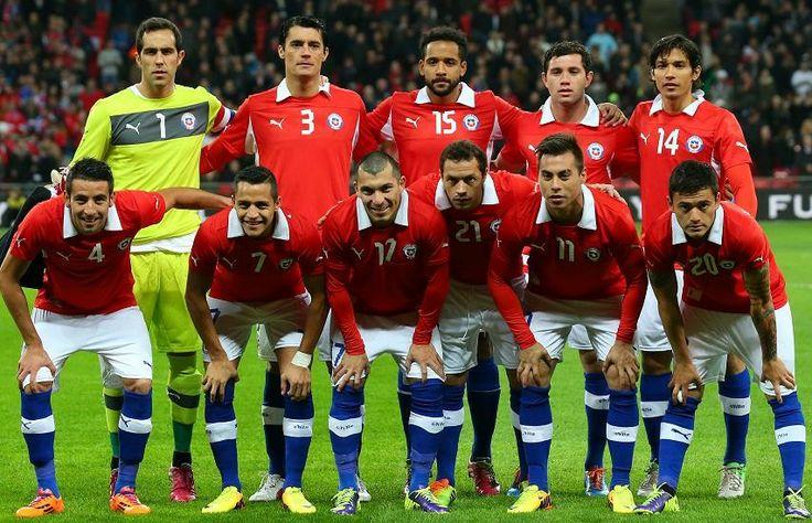 Chile soccer team | soccer | Pinterest | Soccer Teams, Soccer and ...