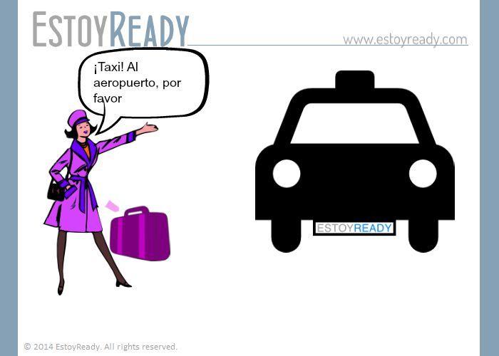 Español - ¡Taxi!