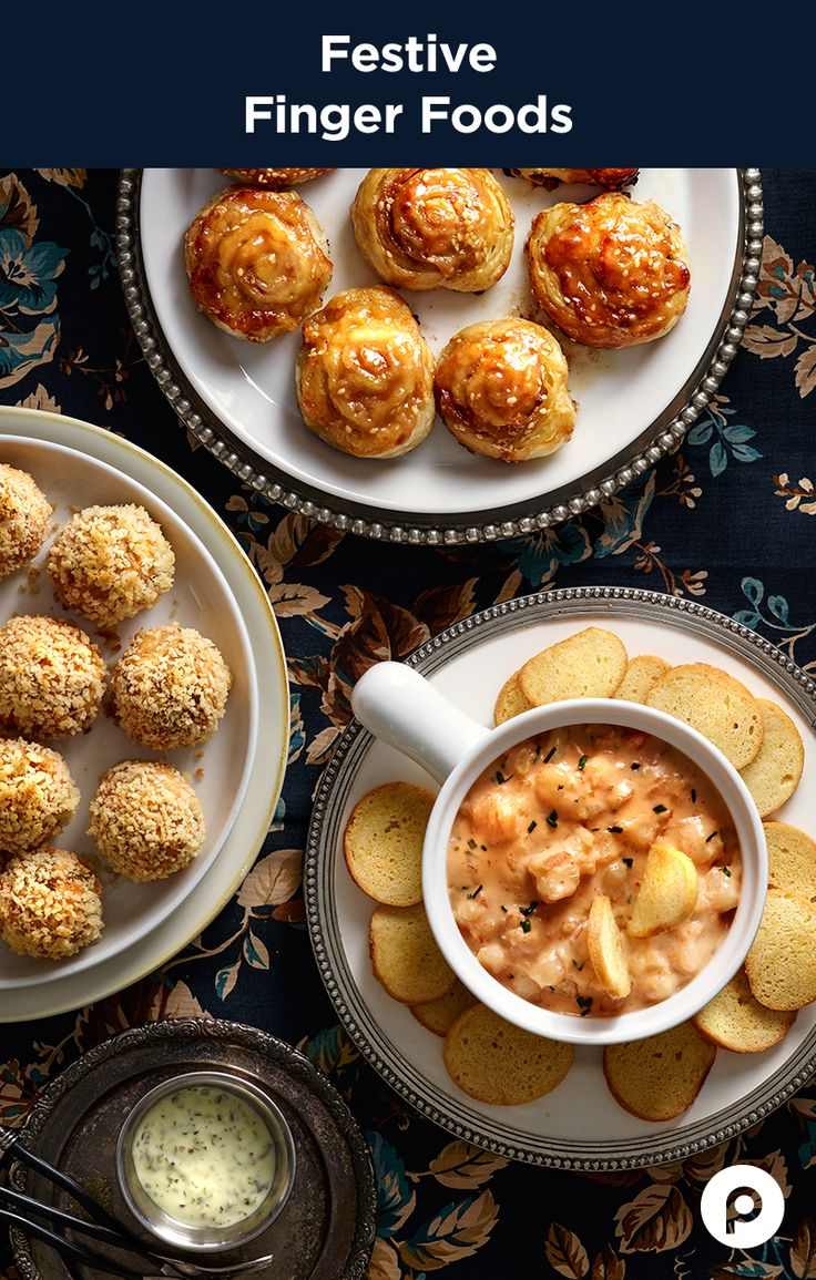 Warm up your crowd with hot and delicious Publix Aprons appetizers. Party Pinwheels go round and round with ham and cheese covered in pizza dough. Chile-Chicken Bites mix things up with a taco taste. And Sriracha Shrimp Fondue brings spicy hot, bacon-flavored fun.
