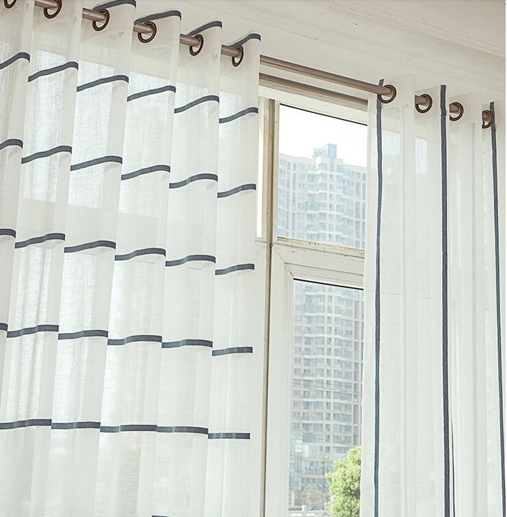Best 25 White Sheer Curtains Ideas On Pinterest Window