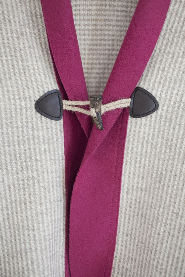 The Devil is in the Details. Wool and Burel Scarf perfect for cosiness.