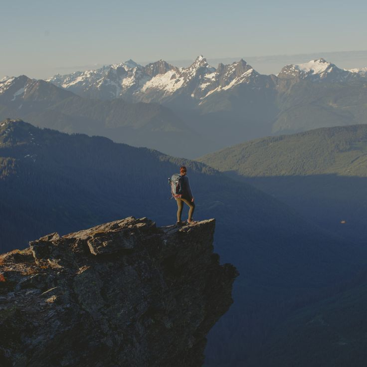 On top of the world at Mount Cheam in BC's Fraser Valley. Photo: @rachelbarkman