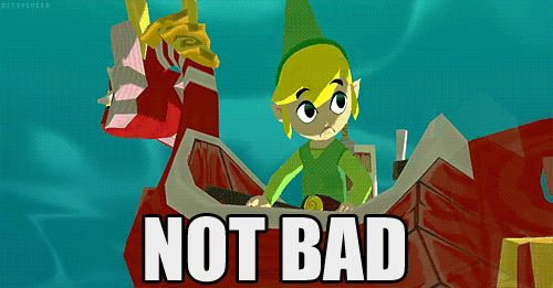 I will never tire of Toon Link's facial expressions. :)