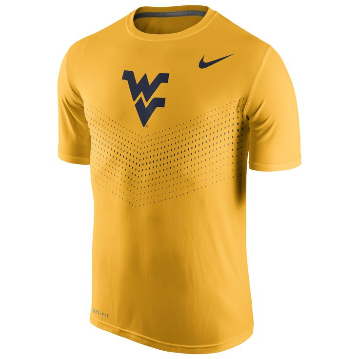 ... make yourself into an icon with this mens nike west virginia  mountaineers performance tee. featuring 28e07599d