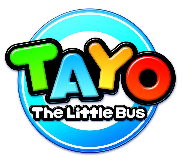 Tayo The Little Bus 2010 Logo Jpg Tayo The Little Bus Little Bus Birthday Labels