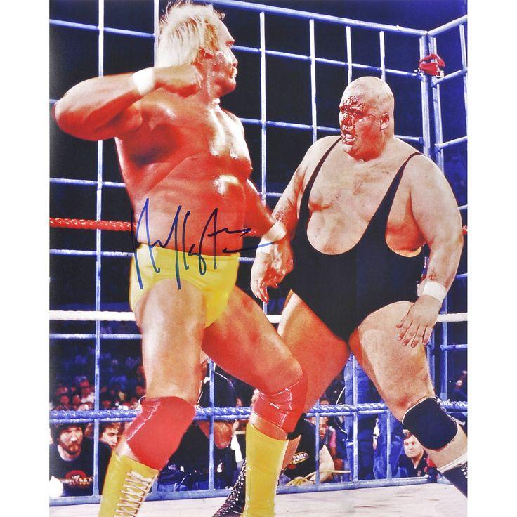 "Hulk Hogan Fanatics Authentic Autographed 16"" x 20"" vs. King Kong Bundy Photograph - $69.59"