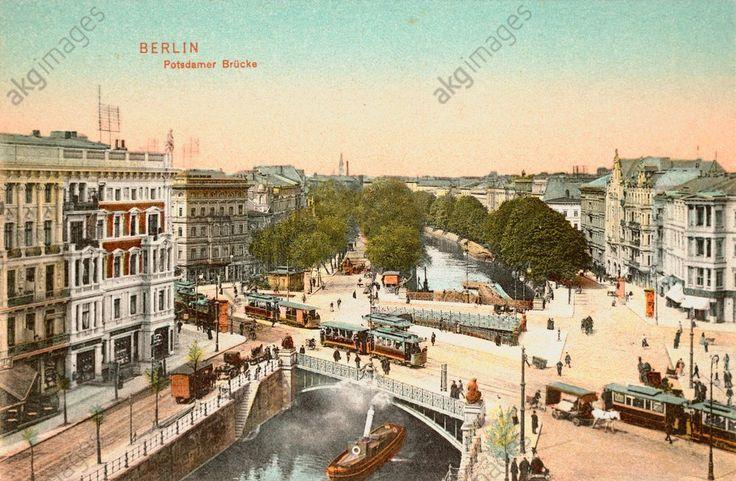 Potsdamer Brücke in Berlin 1905