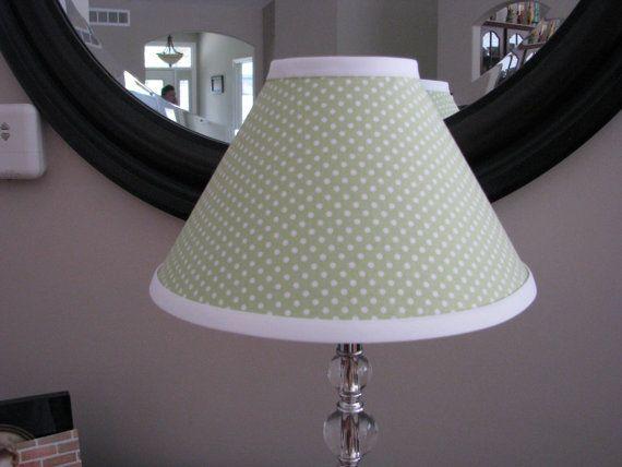 23 best Polka Dot Lamp Shade images on Pinterest | Polka dots ...