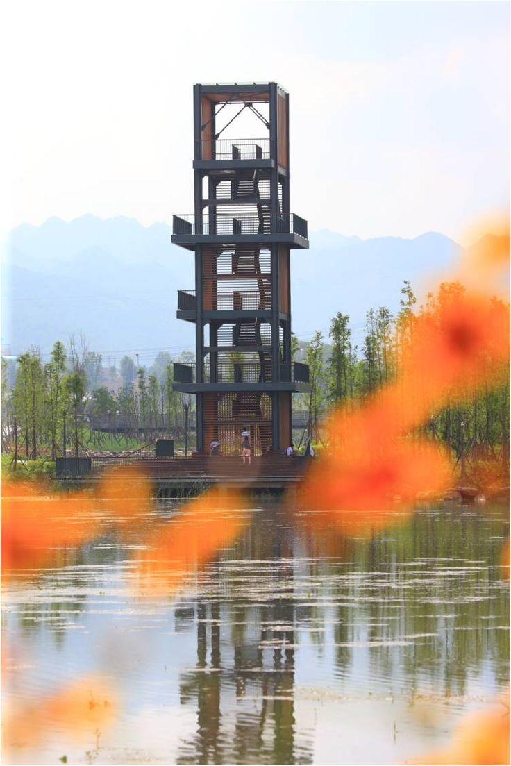 // Minghu Wetland Park by Turenscape. Photos: Turenscape