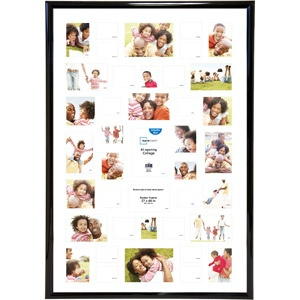 We're going to need a bunch of 27 x 40 poster frames - Walmart for $17 a piece!