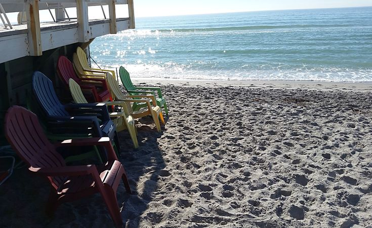 Beach chairs in paradise! | Florida hotels, Englewood ...