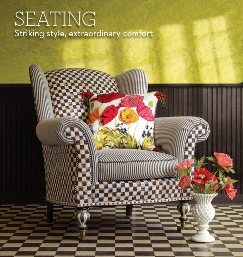 wing chair i want this even more than my tuffet