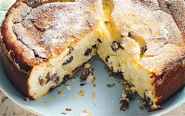 Torta di ricotta #recipe by Anna del Conte #cake #dessert