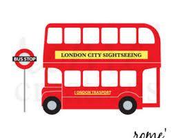 london double decker bus clipart - Google Search