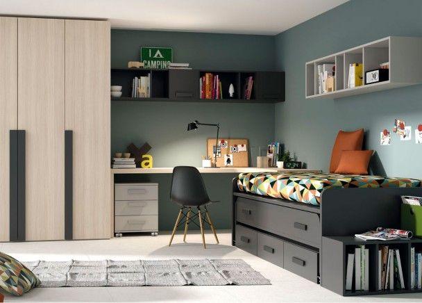Las 25 mejores ideas sobre dormitorio de joven varon en for Sofa cama para habitacion juvenil
