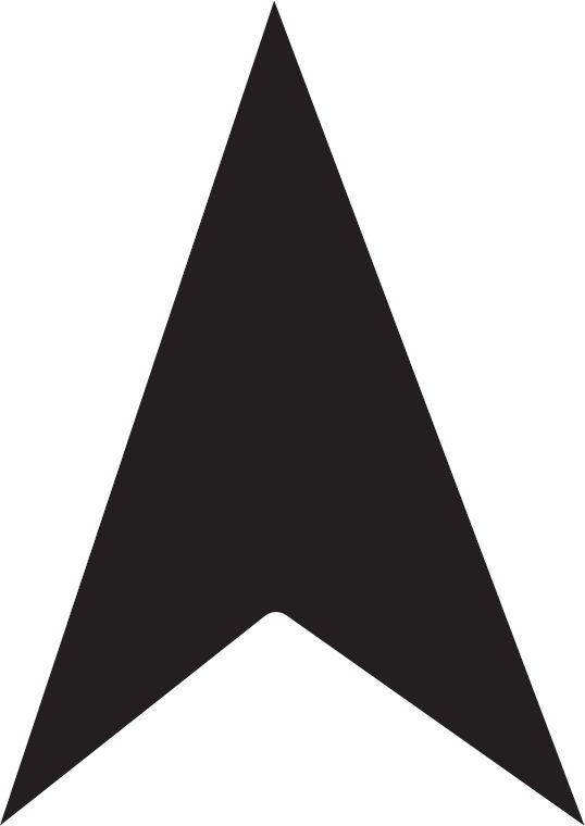 More Shapes: arrow head