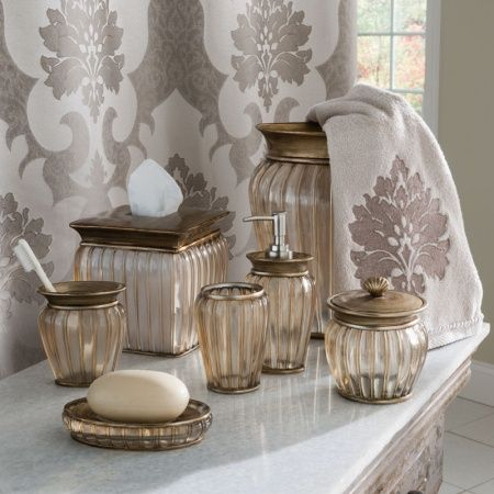The Croscill Antique Ribbed Bathroom Collection Is Sure To Add A Touch Of Sophistication Your