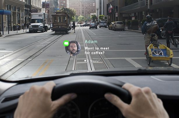 Navdy - A Head-Up Display That Lets Drivers Use Navigation and Their Phone Without Taking Their Eyes off the Road