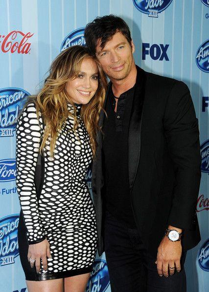 Jennifer Lopez and Harry Connick, Jr. - 'American Idol' Premieres in LA