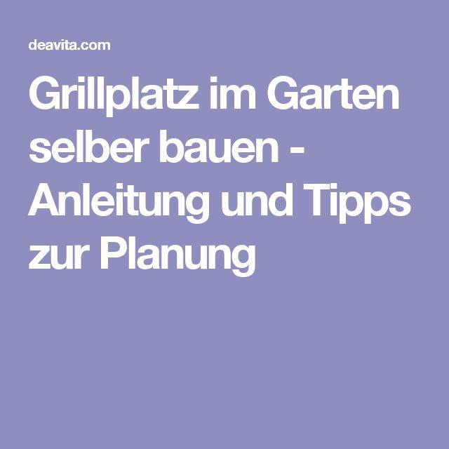 Grillplatz Im Garten Selber Bauen   Anleitung Und Tipps Zur Planung